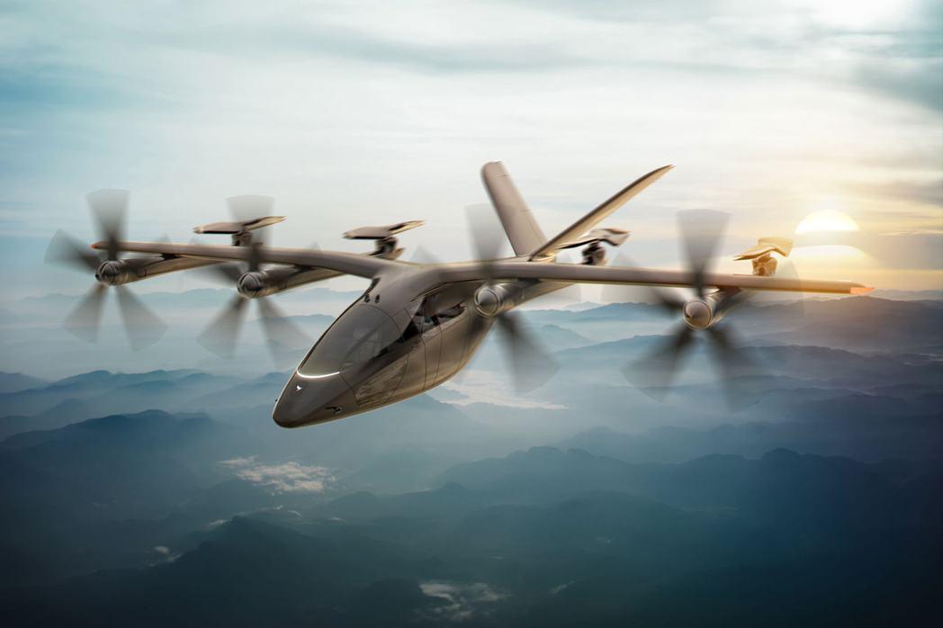 美國、英國及巴西的飛天計程車新創公司取得重大商業突破。圖為Vertical航太集...