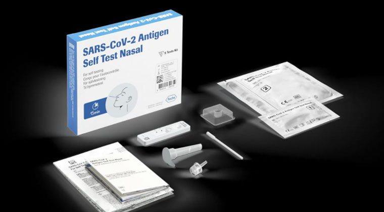 食藥署核准五款居家快篩試劑,民眾可以居家快篩DIY。圖/擷取自臉書