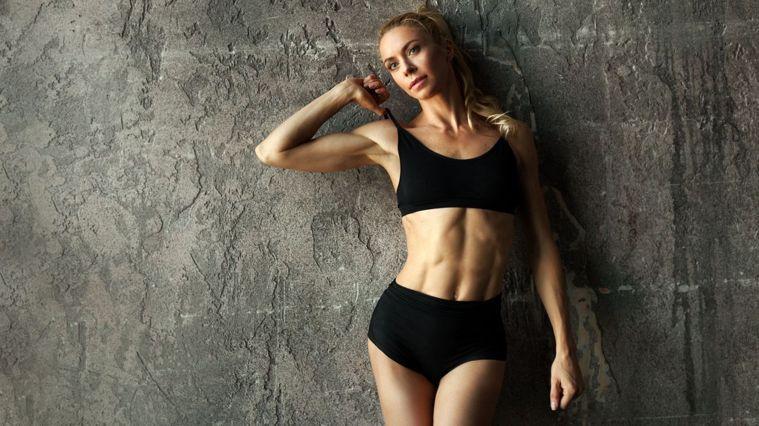 天天訓練兩分鐘,打造完美腹肌不是夢。圖/Canva