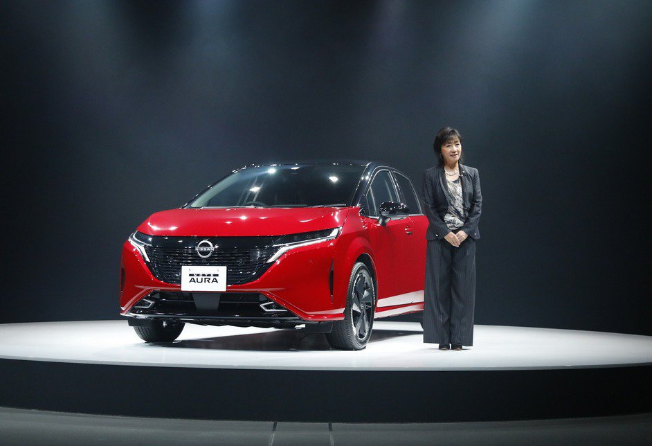 Nissan Note AURA發表。 摘自Nissan.jp