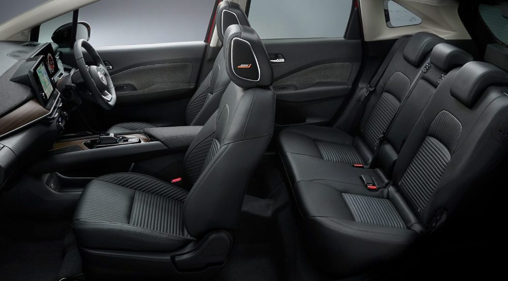 AURA車室在許多元素加進來後呈現更高級的樣貌。 摘自Nissan.jp