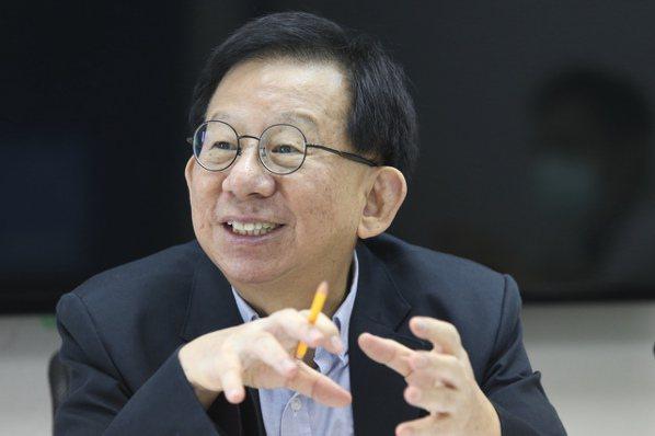 高端疫苗總經理陳燦堅CEO專訪。記者林俊良/攝影 林俊良
