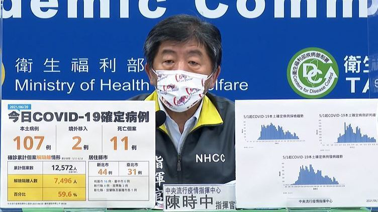 中央流行疫情指揮中心指揮官陳時中。(圖:指揮中心提供)