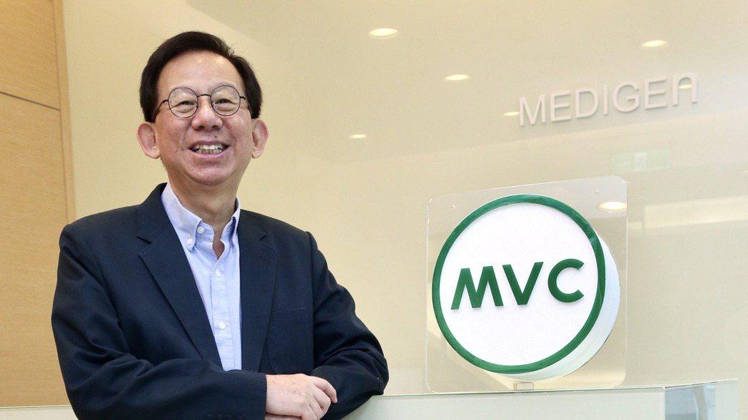 高端疫苗總經理陳燦堅。記者林俊良/攝影