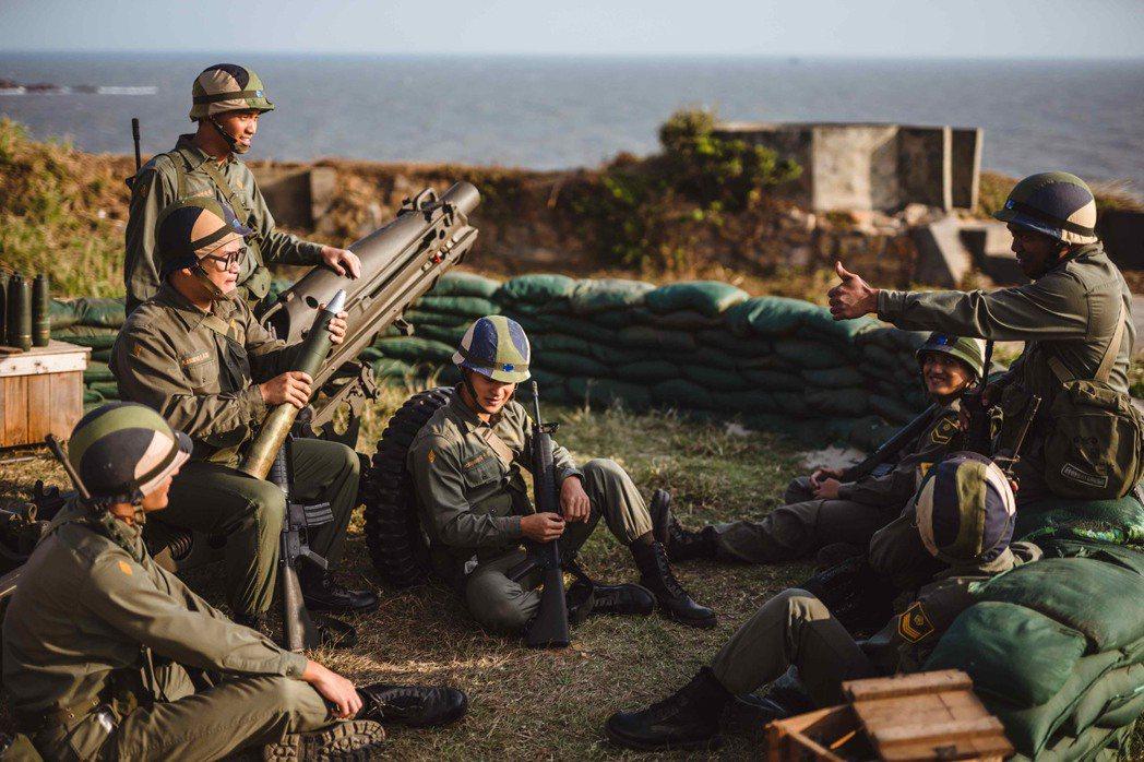 影集「國際橋牌社2」中的軍事相關片段,是在馬祖高登、南竿、北竿實景拍攝。 圖/國...