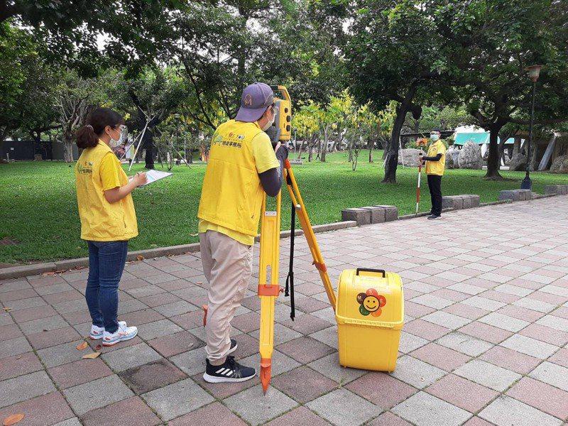 台中市府地政局6月24日恢復土地複丈作業。圖/台中市地政局提供