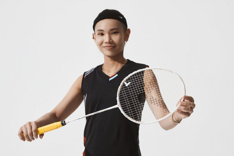 戴資穎將持個人簽名拍征戰東京奧運。圖/勝利提供