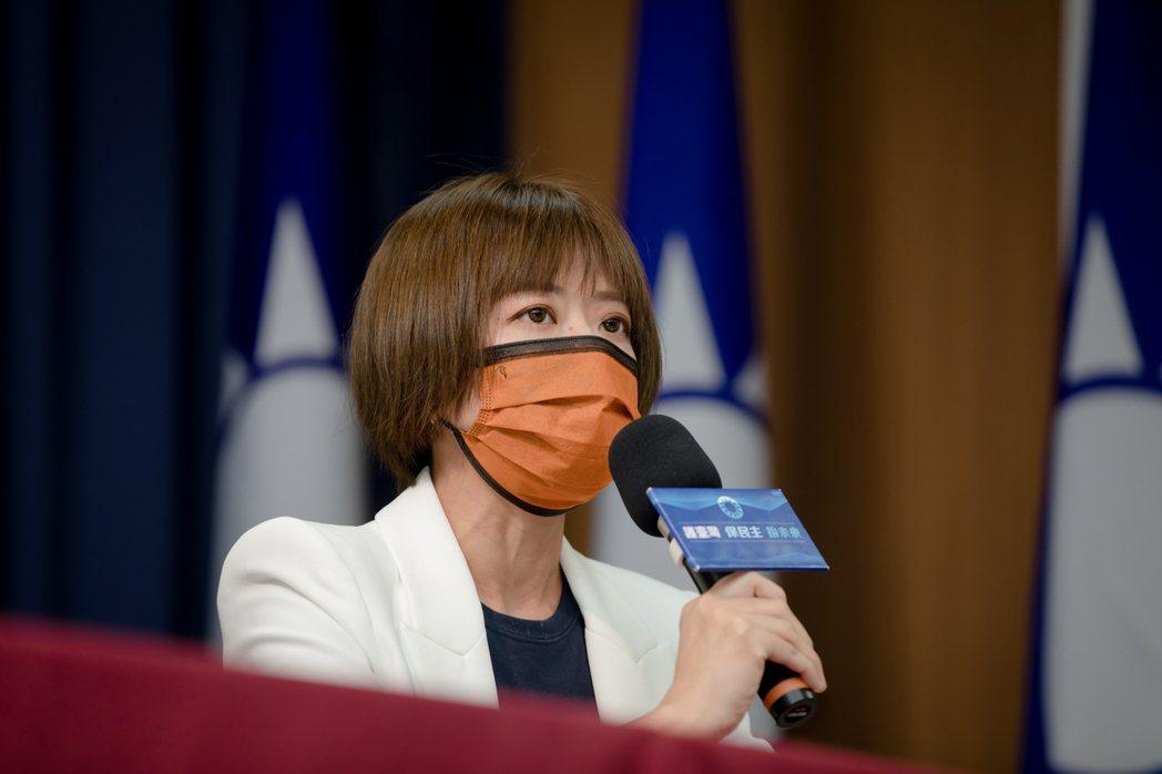 國民黨發言人江怡臻。圖/國民黨提供