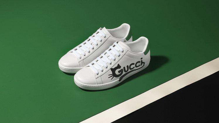 新的New Ace運動鞋款也使用Demetra面料製作大部分鞋面及部分襯裡。圖/...
