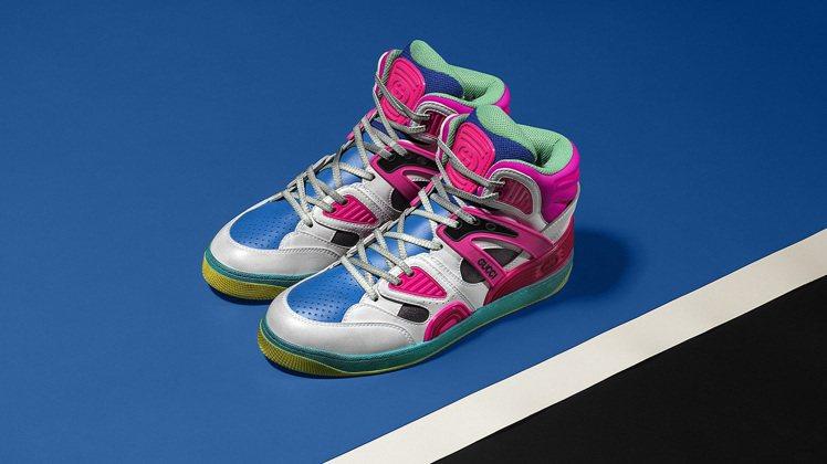 最新推出的Basket系列球鞋,使用了Demetra製成,其中70%的鞋面物料取...