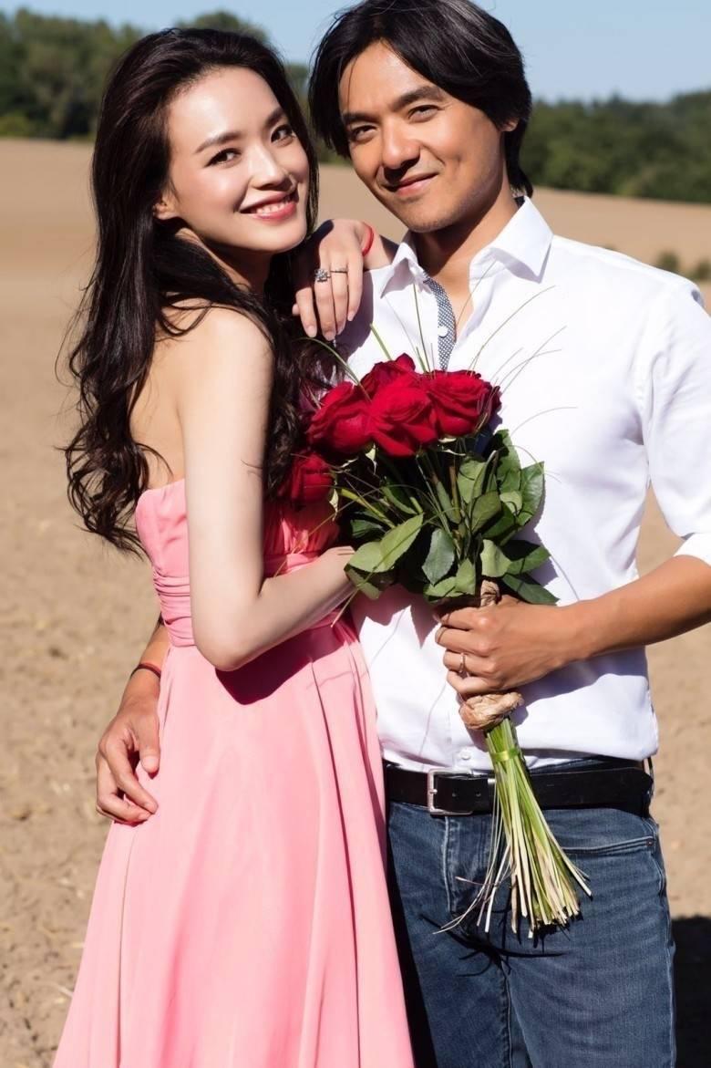 馮德倫(右)、舒淇(左)結婚迄今感情甜蜜。圖/摘自微博