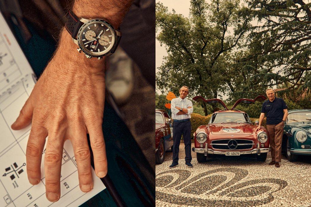 蕭邦贊助2021 Mille Miglia千里賽。圖/蕭邦提供