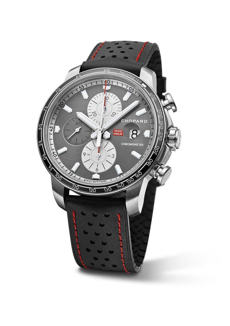 蕭邦Mille Miglia 2021車賽限量版腕表,44毫米精鋼表殼,自動上鍊...