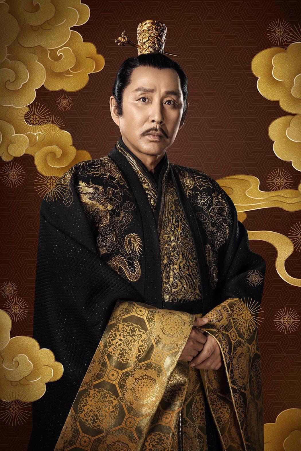 「皇帝專業戶」陳道明在「慶餘年」中再登帝位。圖/中天娛樂台提供