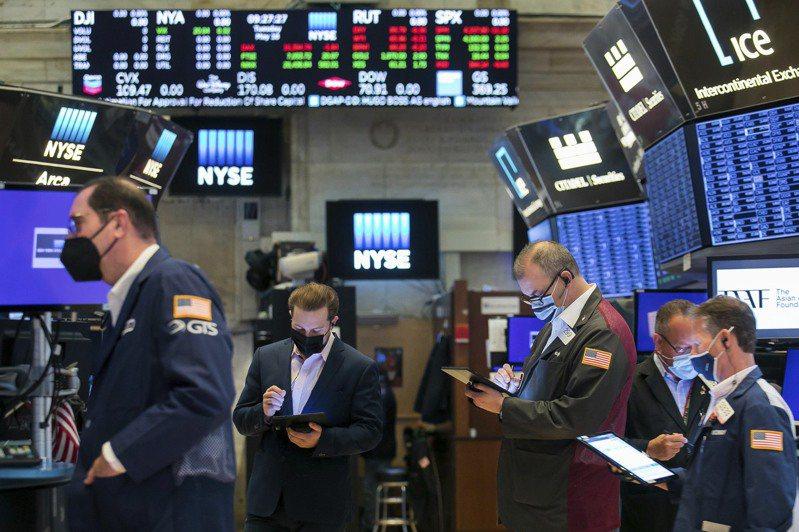 道瓊工業指數上周五大跌逾500點。美聯社