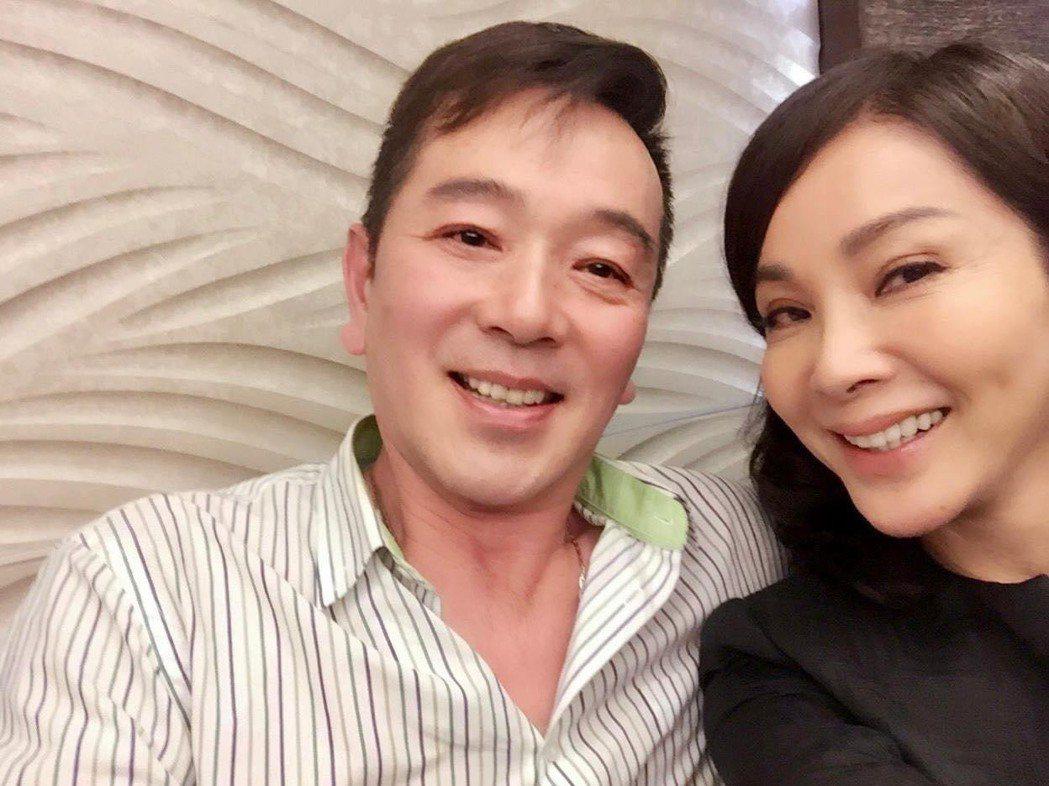 陳美鳳、張晨光過去合作拍戲,私下交情好。圖/摘自臉書