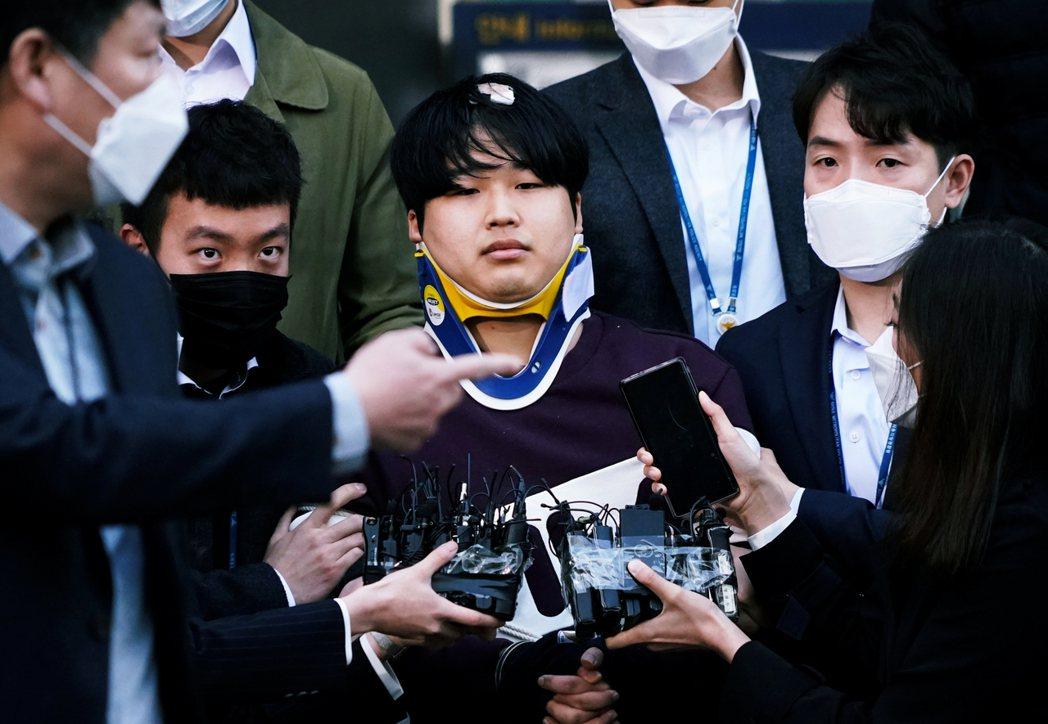 N號房案中,被捕的主謀趙周斌。 圖/路透社