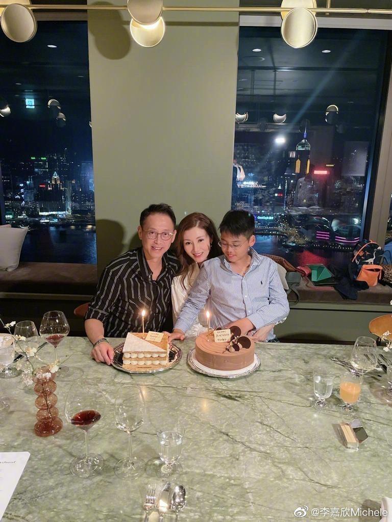 李嘉欣20日過51歲生日。圖/擷自微博