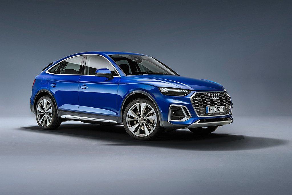 Audi Q5 Sportback搭載最新2.0L 45 TFSI汽油渦輪增壓引...