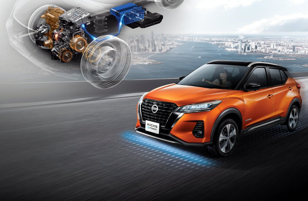 Nissan Kicks e-POWER。 摘自Nissan