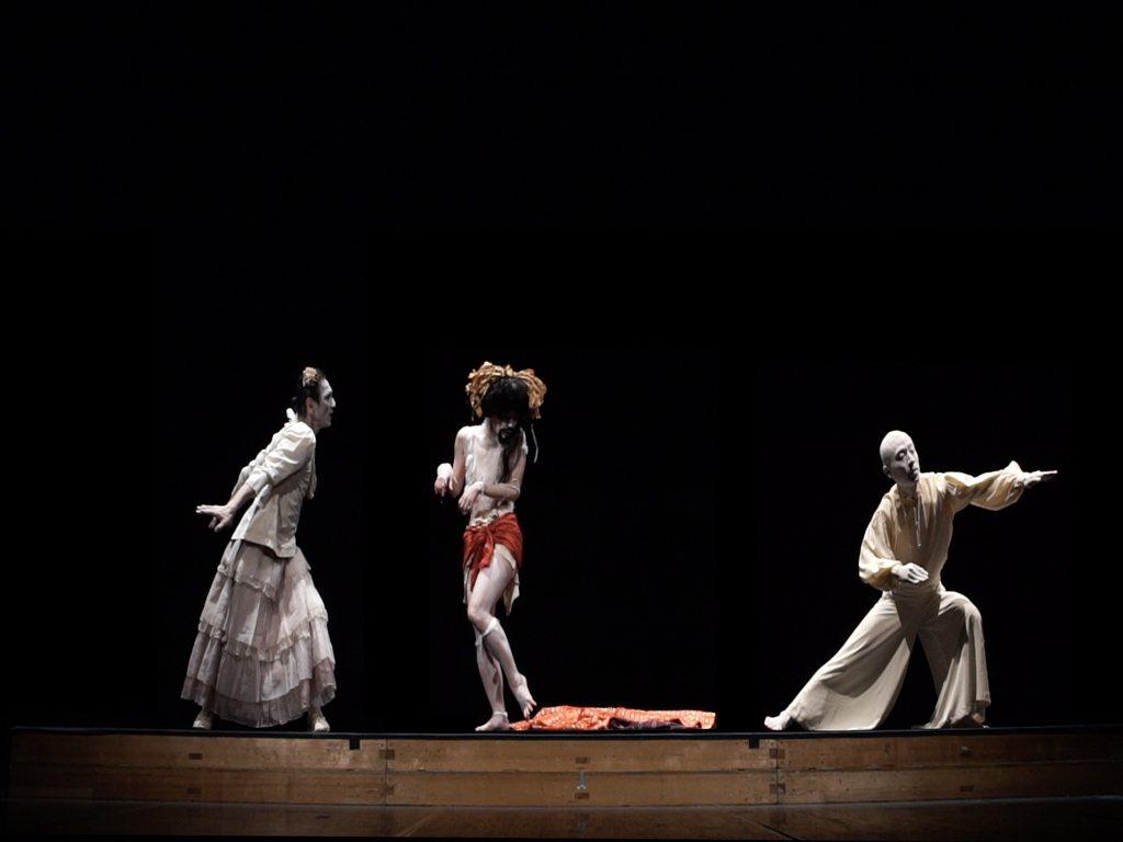 3位舞者川村美紀子、川口隆夫和松岡大,參與了舞踏Butoh誕生的推手——土方巽、...