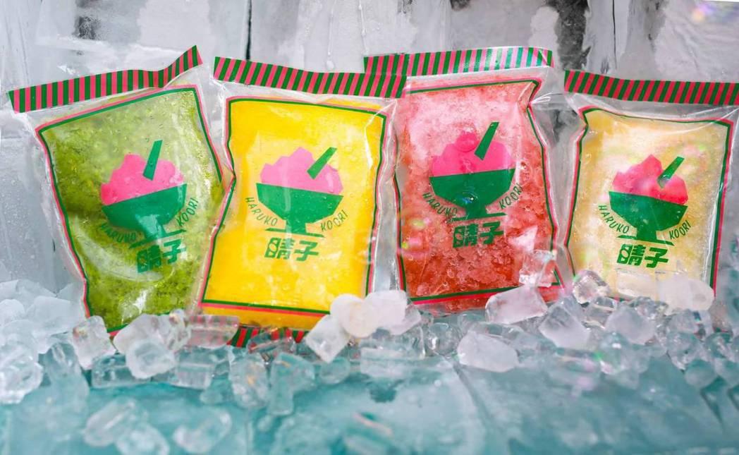 疫情爆發後,晴子冰室研發6款「冰寶貝」,室溫放3分鐘打造沁涼細砂口感。 圖/晴子...