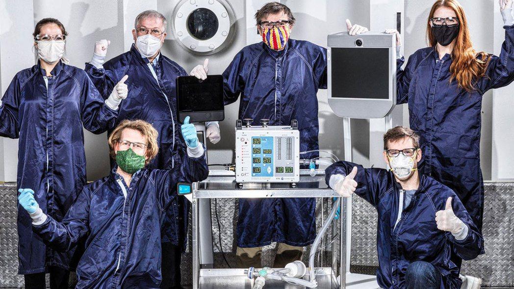運用Supplyframe創造奇蹟:NASA 37天內打造新冠肺炎專屬呼吸器。 ...