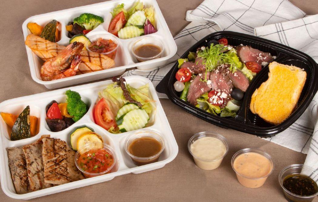 煙波新竹都會館推出3款滿足系餐盒。  煙波國際觀光集團/提供