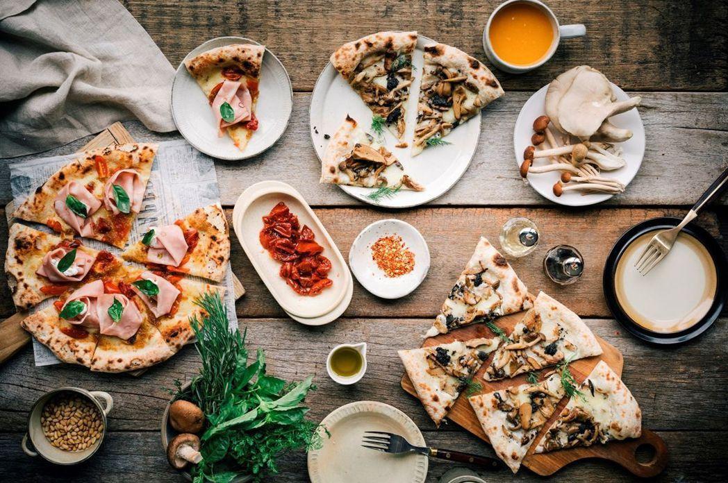 台南館–隱糧,外帶全品項披薩享8折優惠。   煙波國際觀光集團/提供