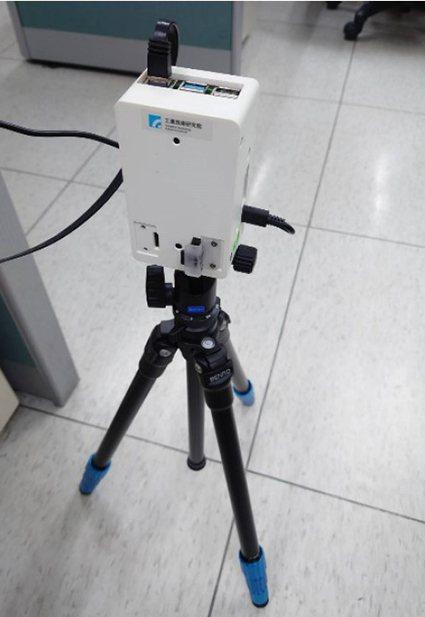 工研院新一代「熱影像體溫異常偵測技術」,結合AI人工智慧與紅外線熱像儀彩色顯示,...