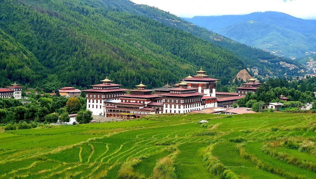 探索不丹首都亭布市區。KLOOK/ 提供