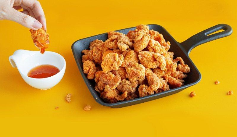 炸鷄大獅無骨雞腿塊泰式風味,冷凍包不必退冰,加熱即食。 業者/提供