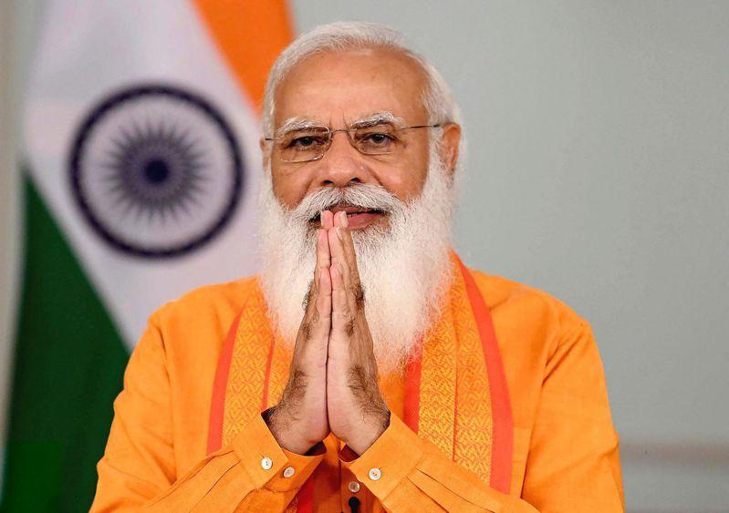 印度總理莫迪(Narendra Modi)。 法新社