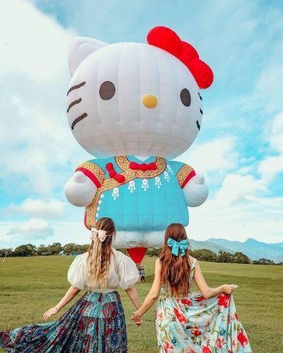 ▲七月份旅遊活動推薦-台東熱氣球嘉年華。 (圖/hannahbabyya,Instagram)