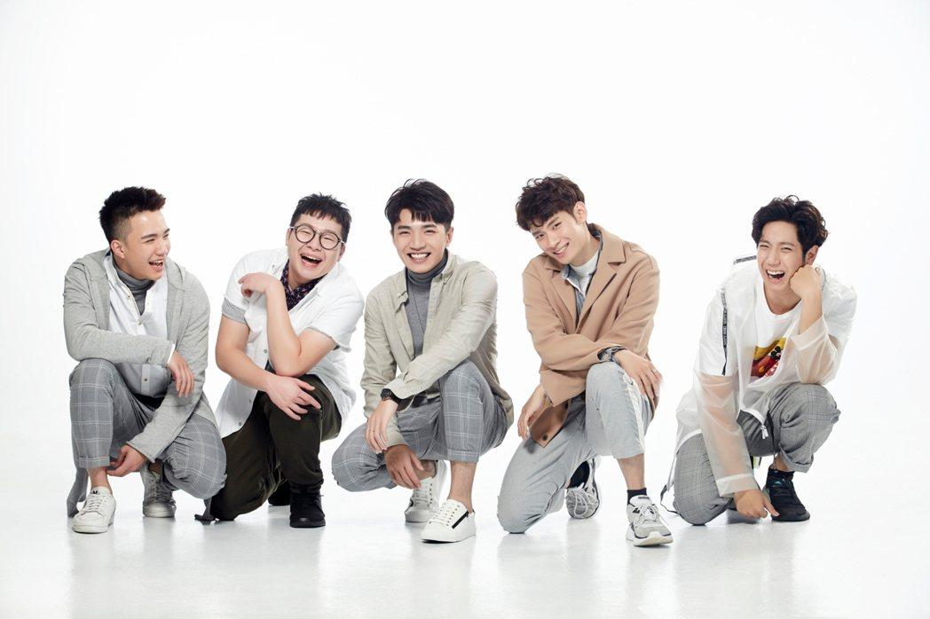 「TBE無極限男團」推出處男作「On Top」。圖/珍火影視提供