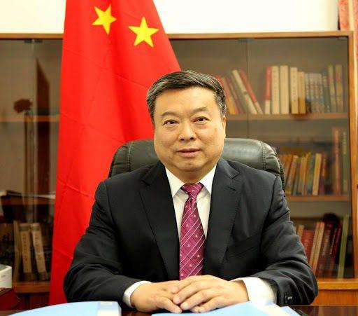 中國大陸駐北韓大使李進軍。取自大陸駐北韓大使館網站