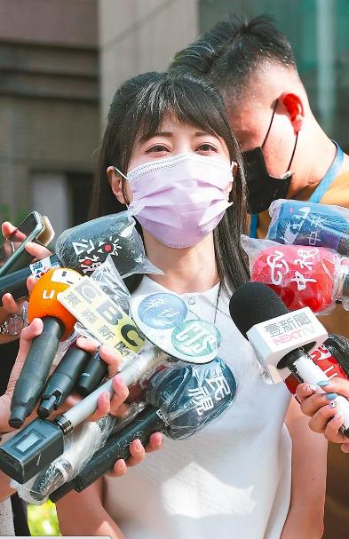 民進黨立委高嘉瑜否認關說,並表示有種「被突襲」感覺。本報資料照