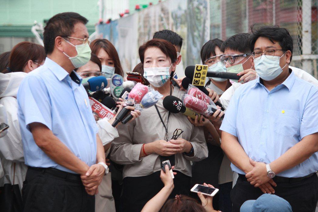 台北市副市長黃珊珊表示,記者胡瑞玲/攝影