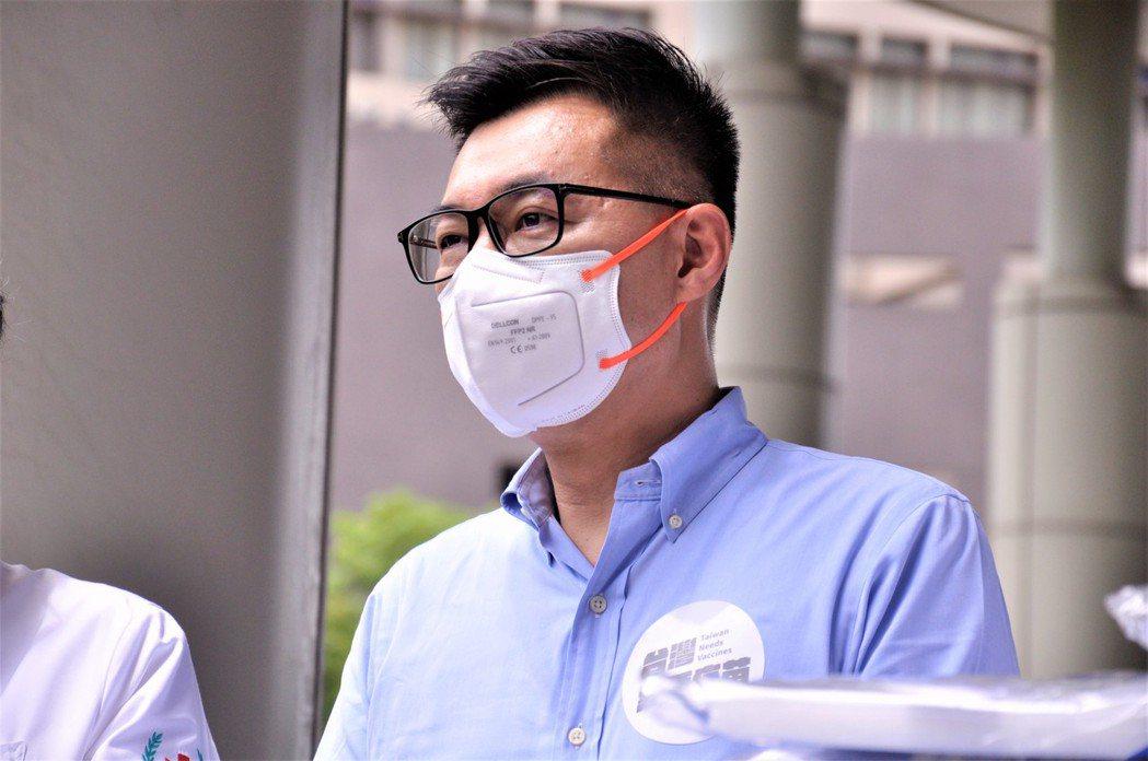 針對香港政府要求我國駐港辦事處人員簽署一中承諾書,國民黨主席江啟臣給予譴責。記者...