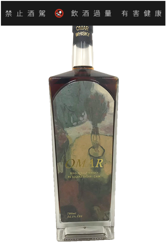 OMAR原桶強度單一麥芽威士忌 (PX雪莉桶) #22160067,獲2021 ...