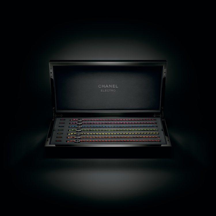Première Electro Box套組腕表,共7枚黑色ADLC類鑽碳處理精...