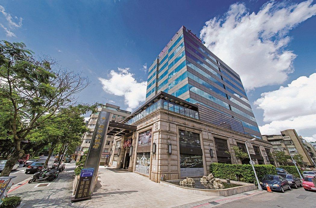 福容台北一館將於2021年9月1日起終止營業。業者提供