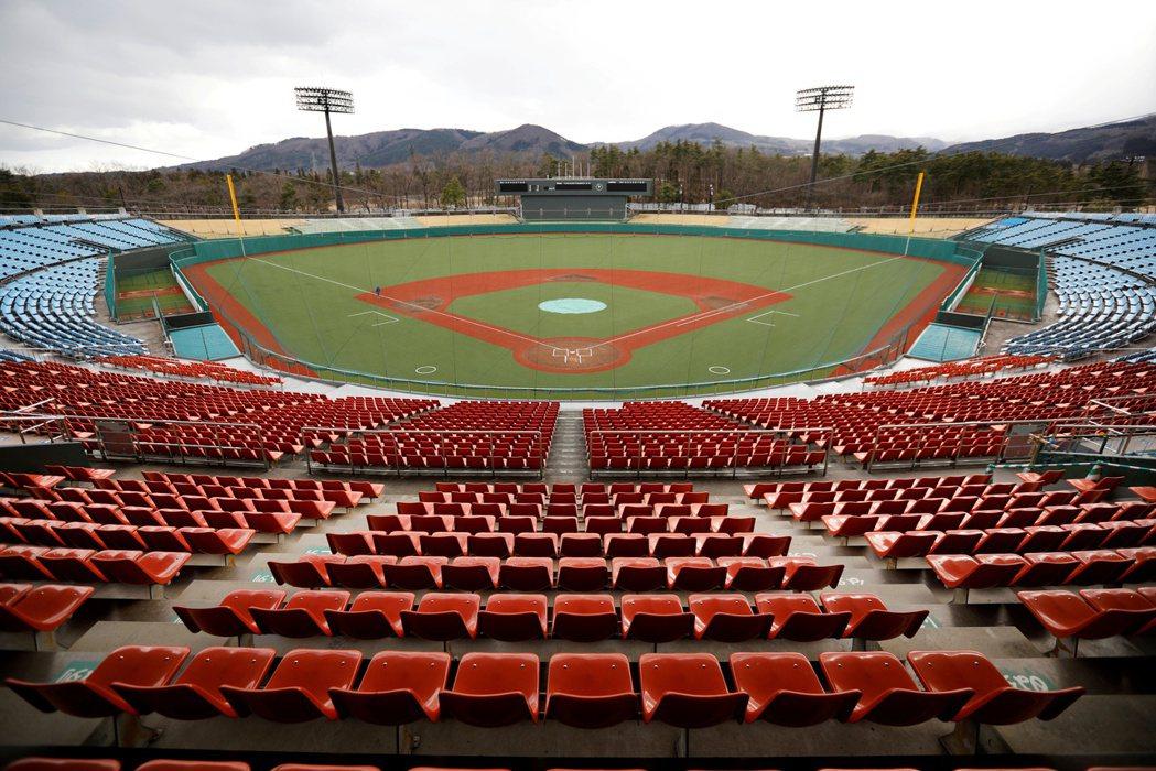 東京奧運棒壘球賽事將在日本福島縣吾妻球場舉行。(路透)
