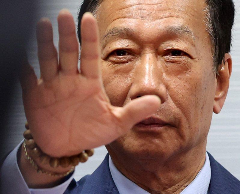 鴻海(2317)創辦人郭台銘。圖/聯合報系資料照片