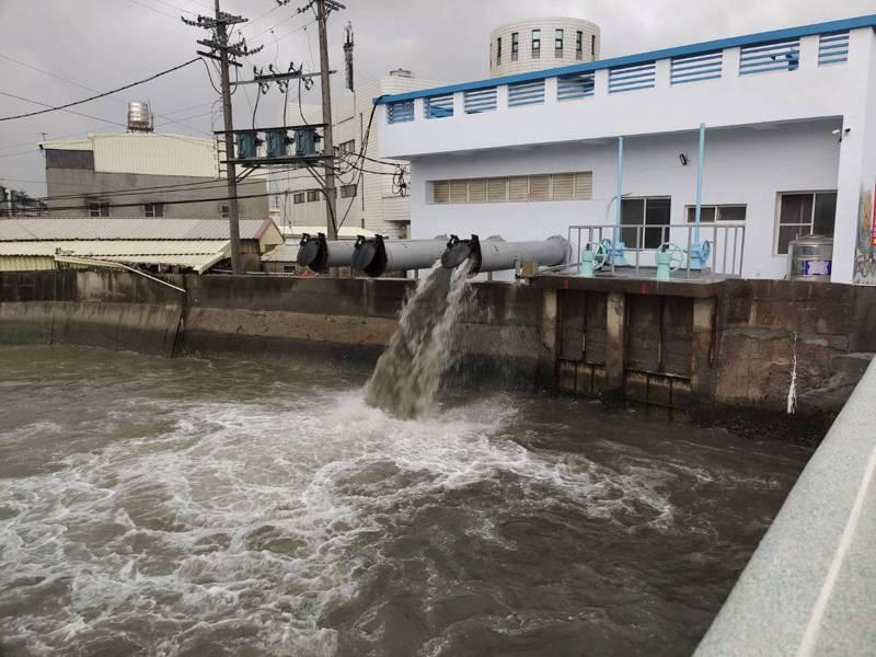 滯留鋒面將至,台南市府水利局三級開設因應,籲請民眾留意水患。圖/水利局提供