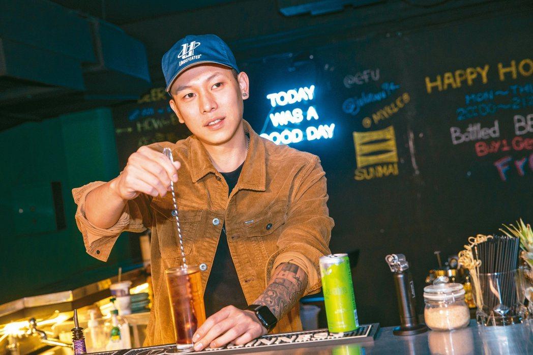 「頑童」瘦子及大淵合開的酒吧「Mademan」暫時停業。本報資料照片