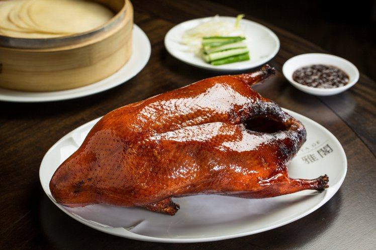 台北文華東方首度推出雅閣「舒肥慢烤櫻桃鴨」外帶方案。圖/文華東方提供