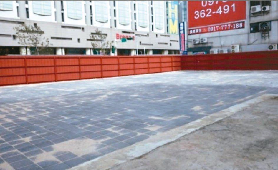 台北市松山區敦化段土地,鄰近微風南京。 國產署/提供