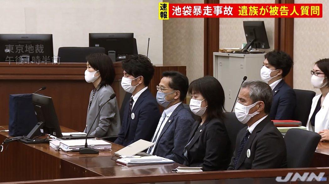 圖/JNN:本回最讓外界關注的,是採用了「被害者參加制度」,讓被害者家屬現場出席...