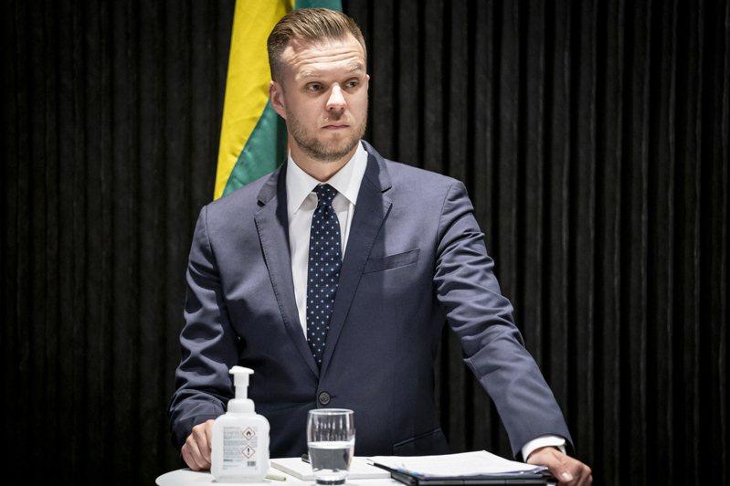 立陶宛外交部長藍斯柏吉斯日前宣布捐贈台灣2萬劑AZ疫苗。 歐新社